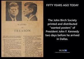 JBS: JFK Wanted Poster